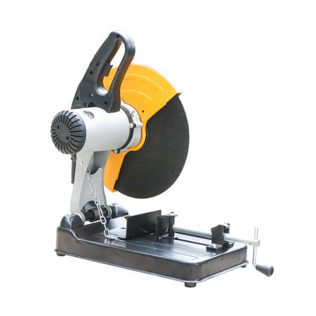 Tools Fiber cutting machine isolated on white background.