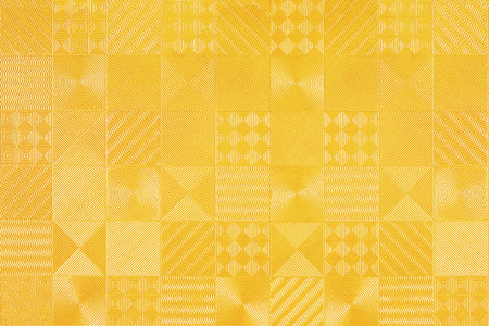 Pattern of gold tiles texture background