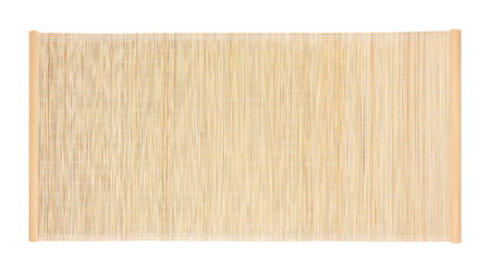 bamboo blind frame isolated on white background