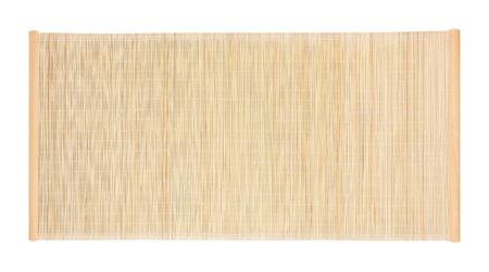 bamboe blind frame geïsoleerd op een witte achtergrond