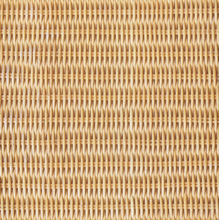 Rattan or wicker weave texture background Reklamní fotografie
