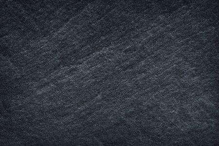 Priorità bassa o struttura dell'ardesia nera grigio scuro. Archivio Fotografico