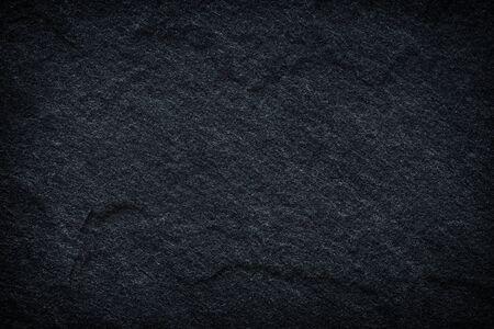 Fondo o textura de pizarra negra gris oscuro