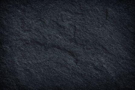 Dunkelgrauer schwarzer Schieferhintergrund oder -beschaffenheit