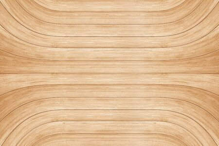 Wooden curve wall background or texture