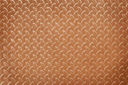 Old steel sheet, brown textured metal background