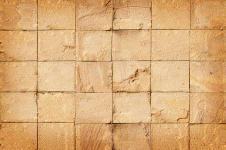 pattern of decorative sandstone wall surface texture for background 스톡 콘텐츠