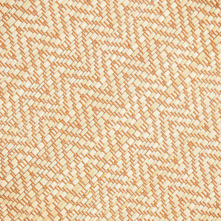 Texture of native thai style weave sedge mat background - made from papyrus Stock Photo