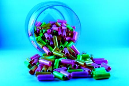 zero gravity: Colorful Capsules