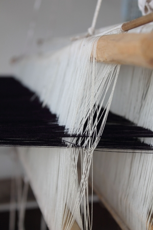 distorted image: thailand - weaving