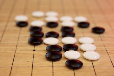Goh or go a chinese ancient board game photo