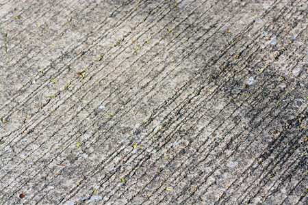 rough road: Rough cement road Stock Photo