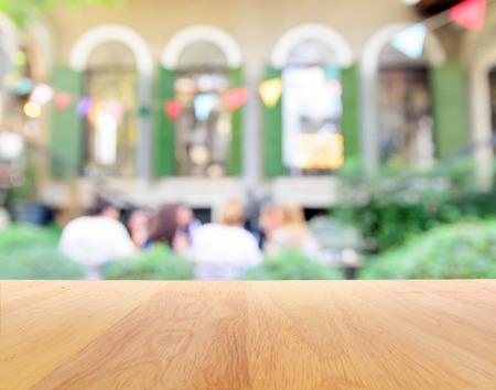 Blur achtergrond van de partij in de tuin