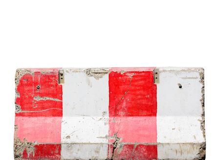 Jersey cement barrier 版權商用圖片