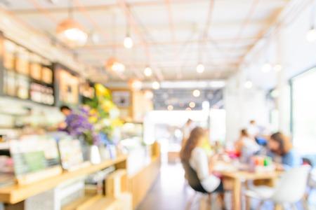 Blur restaurant achtergrond