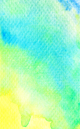 green yellow: Green yellow grunge watercolor background texture
