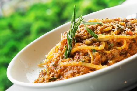 bologna: Veal Spaghetti Bologna