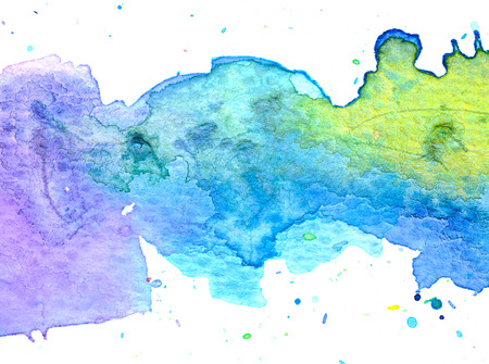 Colorful pastel watercolor painting background