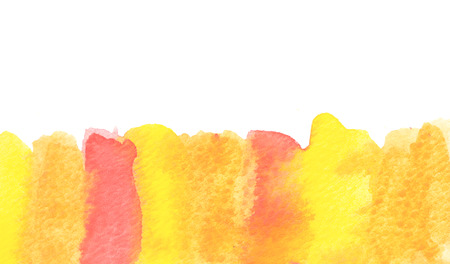 copy space: Copy space in orange water color background