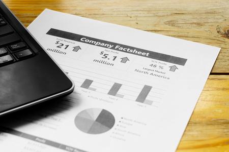 calculated: Reading company financial fact sheet