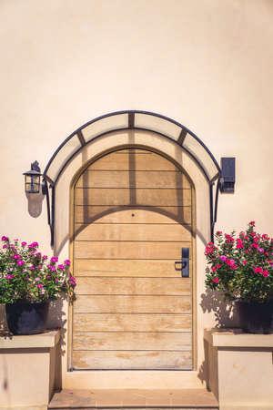 large doors: Vintage style luxury wooden door