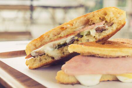 ham cheese Cuban sandwich