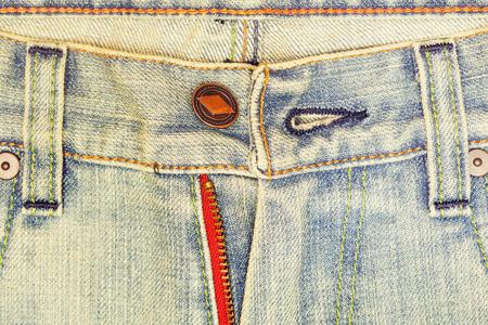 unzipped: unbutton blue pants jean
