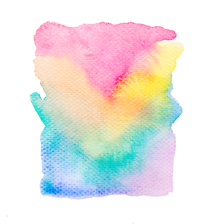 abstract rainbow: Rainbow abstract water color background texture Stock Photo