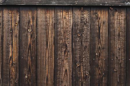 Rustic black wooden door background Imagens - 100378457