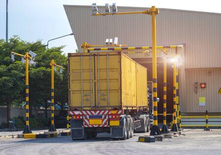 X-ray cargo process
