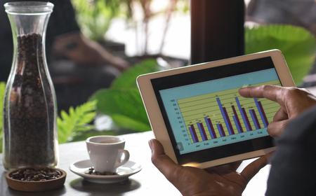 Business Brainstorming Data Target Financial Concept