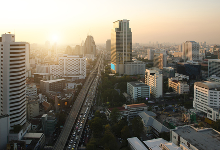 Downtown Cityscape, bangkok, thailand