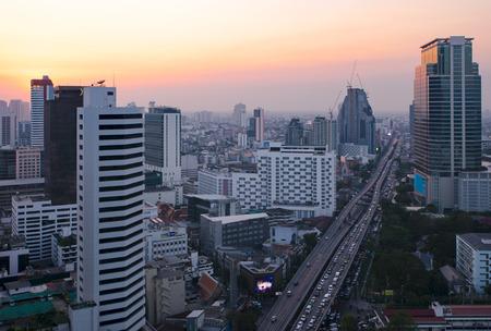owntown Cityscape bangkok thailand Stock Photo