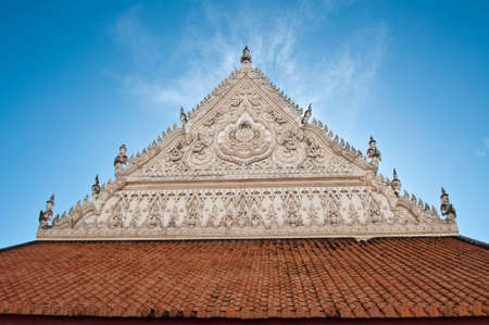 generality: Pattern of Thai style molding art at temple.                         Generality in Thailand, any kind of building in temple, art decorated in Buddhist church, temple pavilion, temple hall, monk