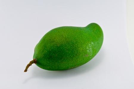 unripe: Unripe mango in thailand Stock Photo
