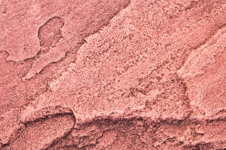 Texture of red sandstone in thailand Stock Photo
