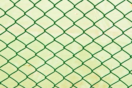 Green rabitz type steel wire Stock Photo - 20854985