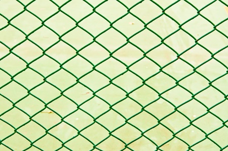 Green rabitz type steel wire Stock Photo - 20854985