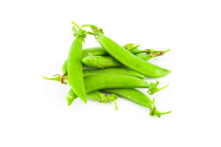 green beans isolated on a white background Stock Photo - 20912977