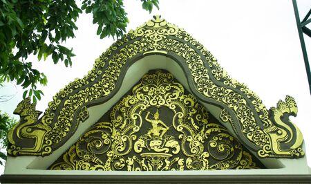 tropica: arch of phaphutthathammaharacha in thailand