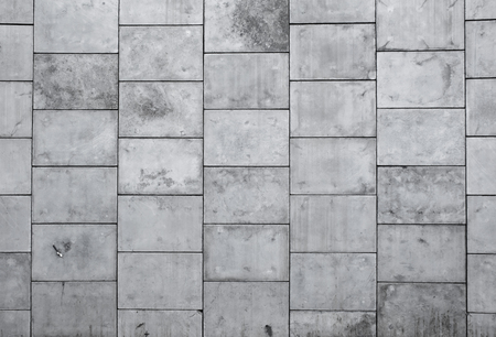 concrete blocks: Great big concrete wall A background Stock Photo