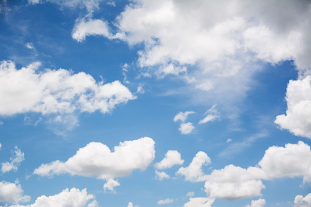 cloud and blue sky  background Banco de Imagens