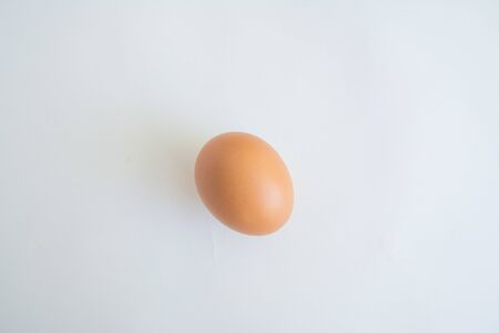 chicken eggs  isolated on white background