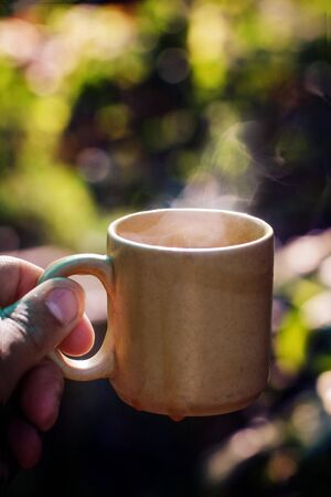 Nothing is better than a cup of hot tea on cold winter morning
