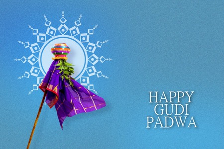 gudi padwa marathi new year Stock Photo - 74554583