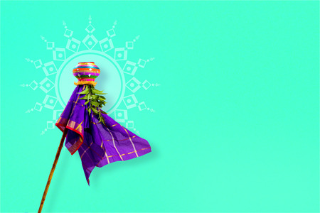 gudi padwa marathi new year Stock Photo - 74479191