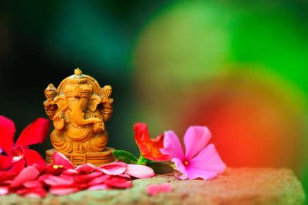 Celebrate lord ganesha festival. Lord ganesha sclupture
