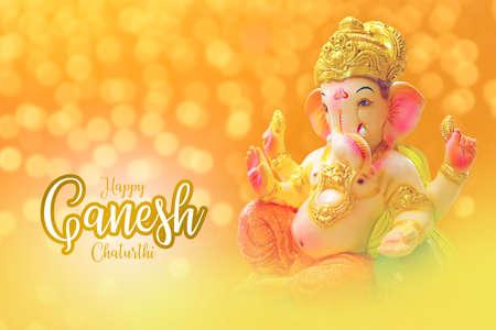 Lord ganesha festival. lord ganesha colorful sclupture Reklamní fotografie