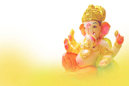 Lord ganesha festival. lord ganesha colorful sclupture