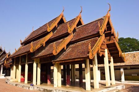 lanna: Old Lanna style church